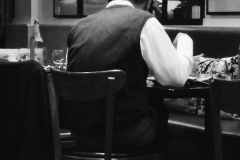 Man in Restaurant
